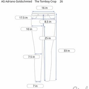 Ag Adriano Goldschmied Jeans - AG Adriano Goldschmied Tomboy Crop Relax Straight